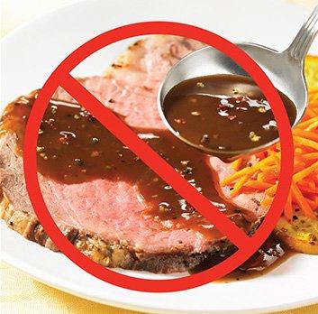 không ăn thịt đỏ