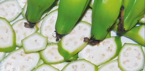 Chuối Hột có tác dụng tăng thải trừ axit uric