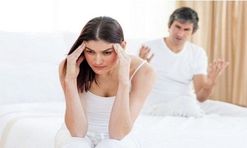 Lãnh cảm ở phụ nữ cũng là một trong các nguyên nhân gây mất hạnh phúc gia đình
