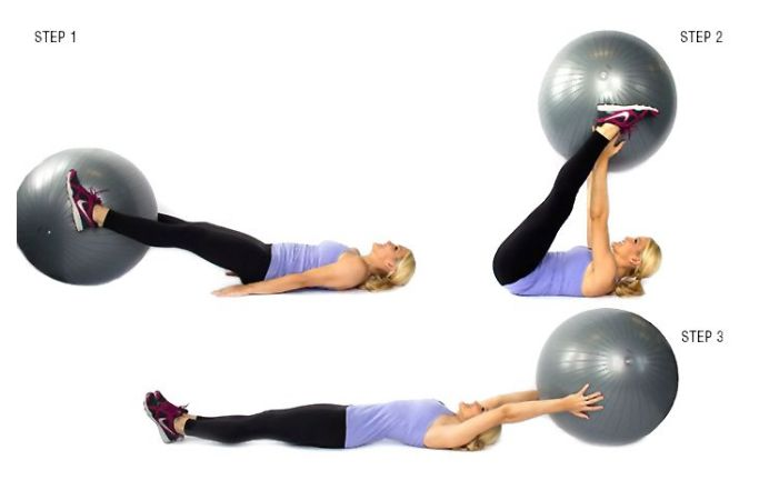 bài tập giảm mỡ bụng hiệu quả với bóng