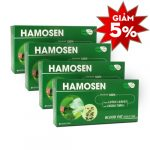 Combo 4 hộp Thực phẩm bảo vệ sức khỏe Hamosen