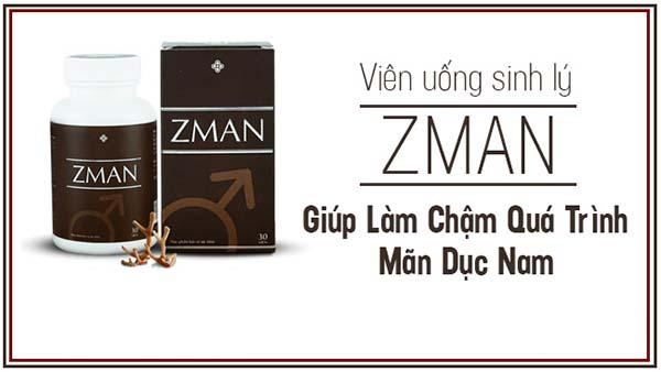 Zman có tác dụng gì đối với nam giới