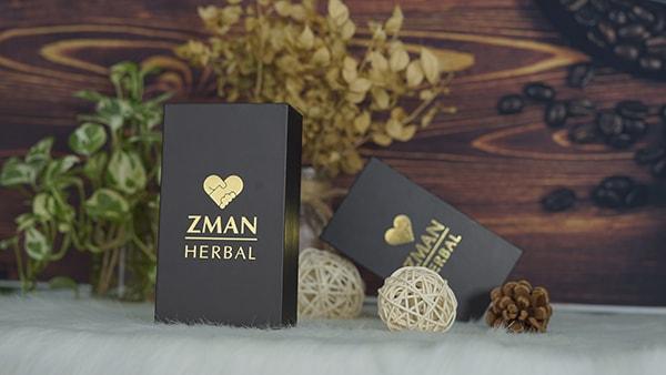 Zman Her với thành phần từ cácl oại thảo dược thiên nhiên nổi tiếng