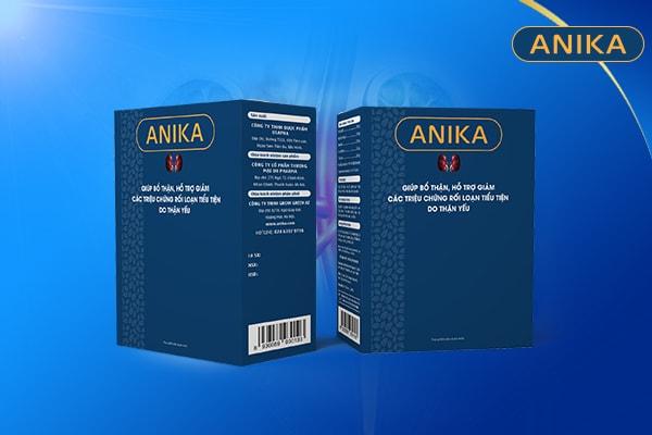 Viên uống Anika, thần dược cho người bị tiểu đêm