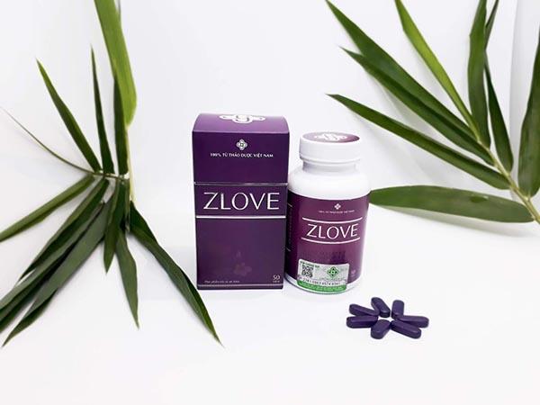 Viên uống Zlove, viên uống thực phẩm của chị em phụ nữ