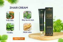 Zhair Cream chiết xuất hoàn toàn tự nhiên?