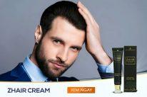 Zhair Cream hỗ trợtrị hói đầu mang lại hiệu quả vô cùng tuyệt vời chỉ sau 1-2 tháng